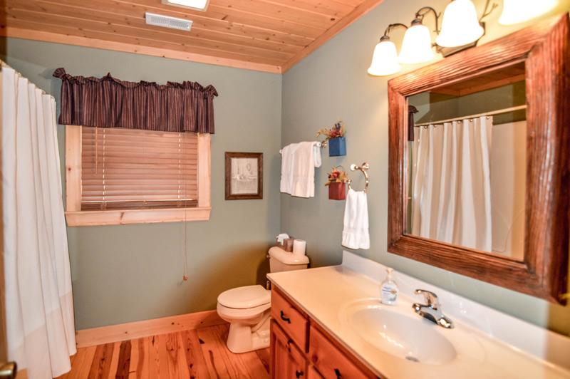 Appalachian Trail Area Vacation Rentals Bathroom