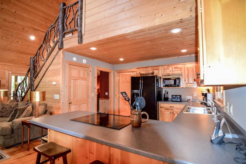 Towns County Mountain Retreat Kitchen