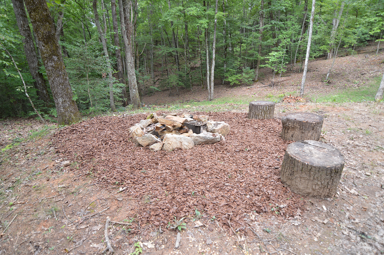 Fire PIt in the Mountains