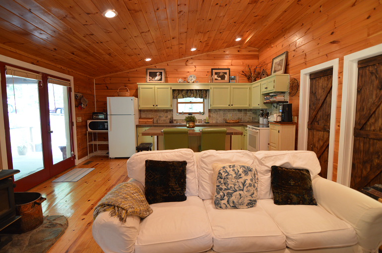 North Carolina Mountains Cabin Rental Secluded