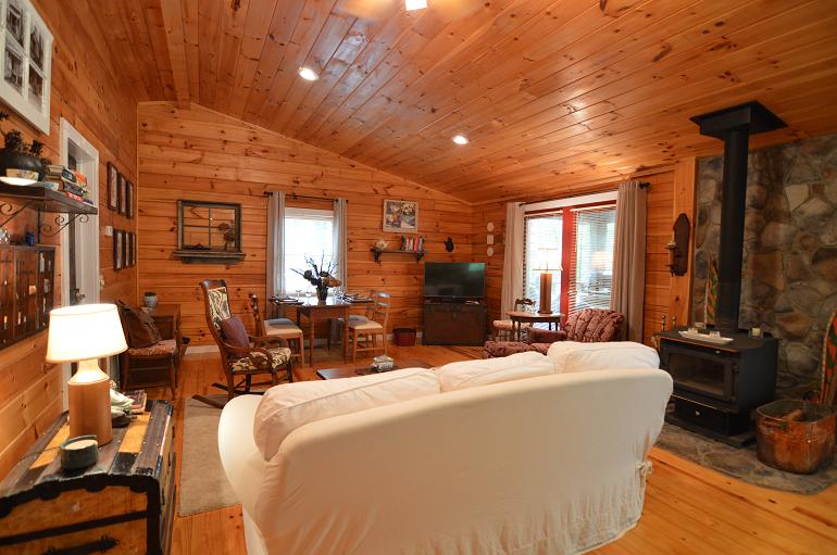 Private Cabin Romantic Secluded Cabin Rental
